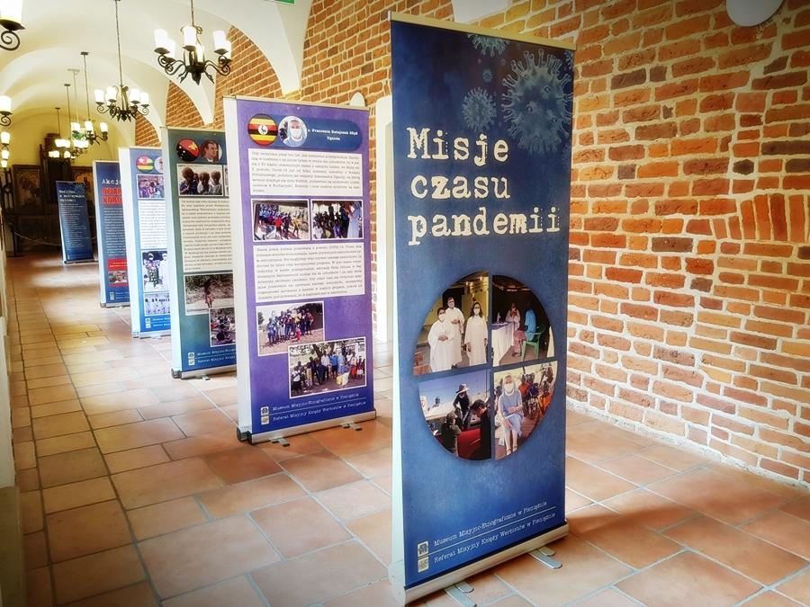 Misje w czasie pandemii - wystawa misyjna