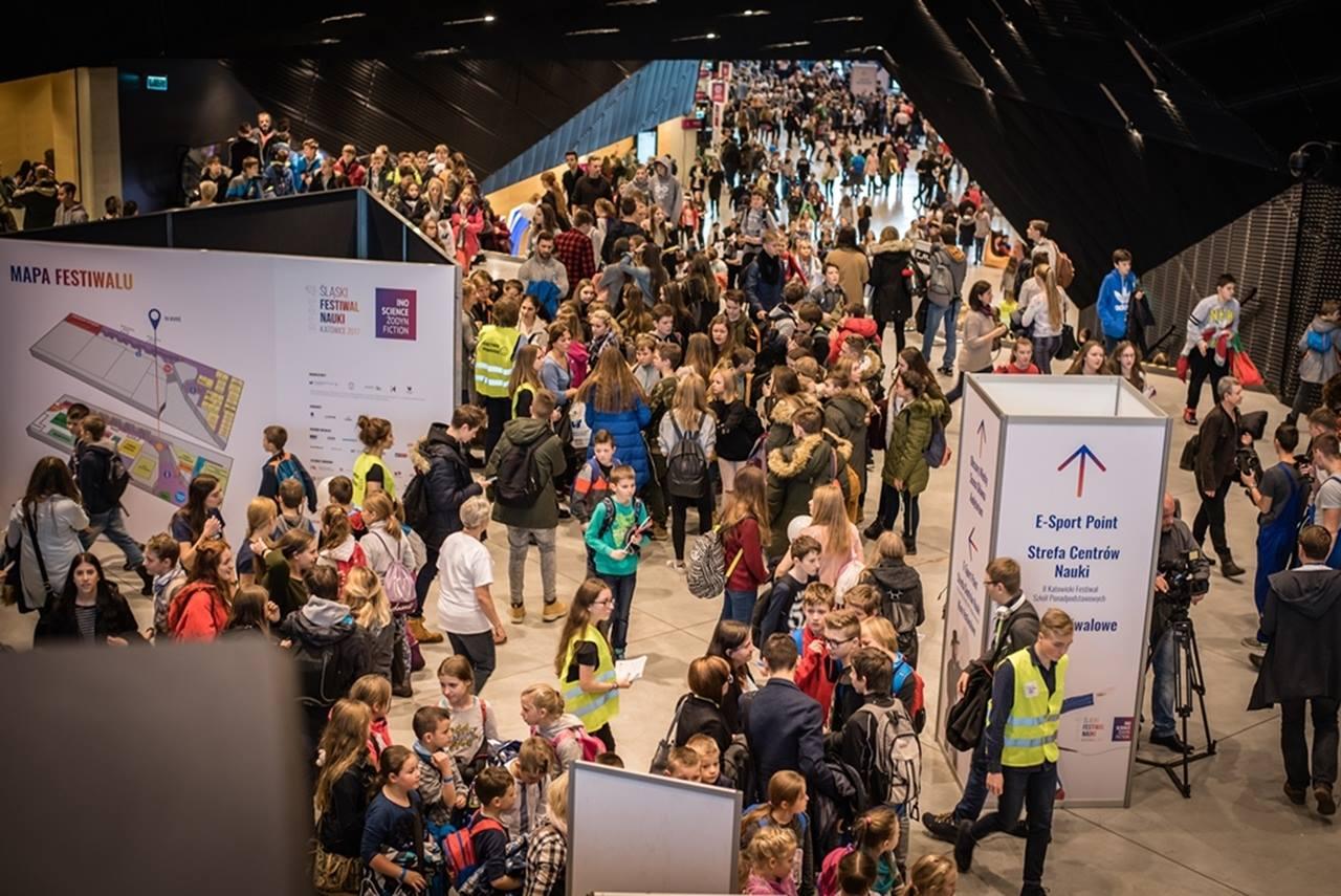 Śląski Festiwal Nauki KATOWICE  12-14.01.2019