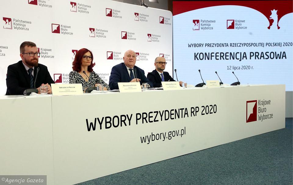 Częściowe wyniki głosowania w drugiej turze (Polska, woj., powiat, gmina)