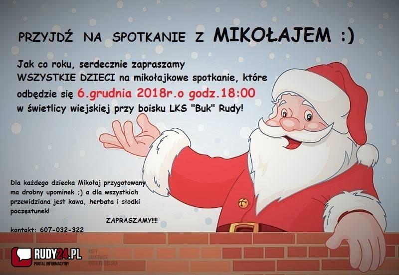 Przyjdź na Spotkanie z Mikołajem!