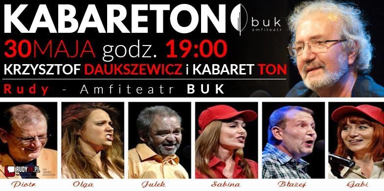 Już 30 maja Kabareton z występem Krzysztofa Daukszewicza.