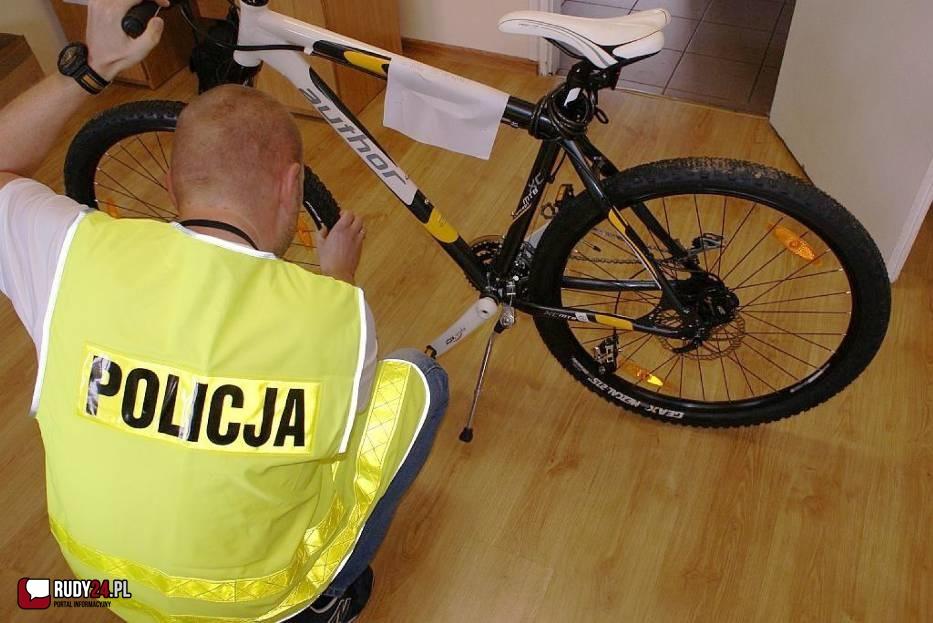 Złodziej roweru już w rękach policjantów