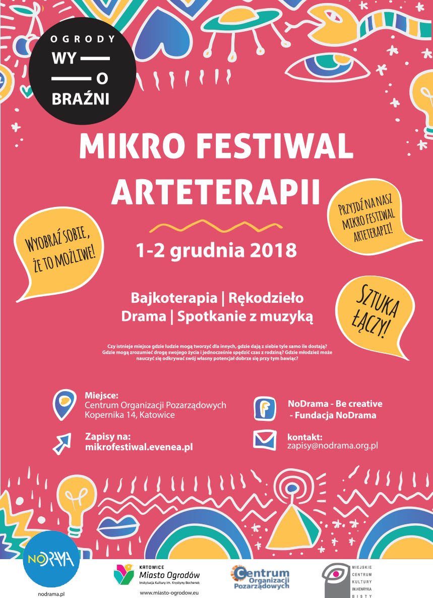 Mikrofestiwal Arteterapii - 1-2 grudnia 2018