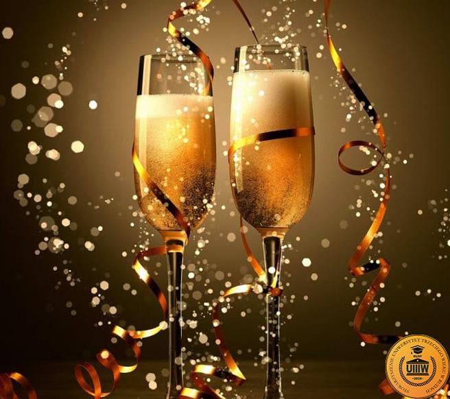 Życzenia  noworoczne Zarządu UTW w Rudach