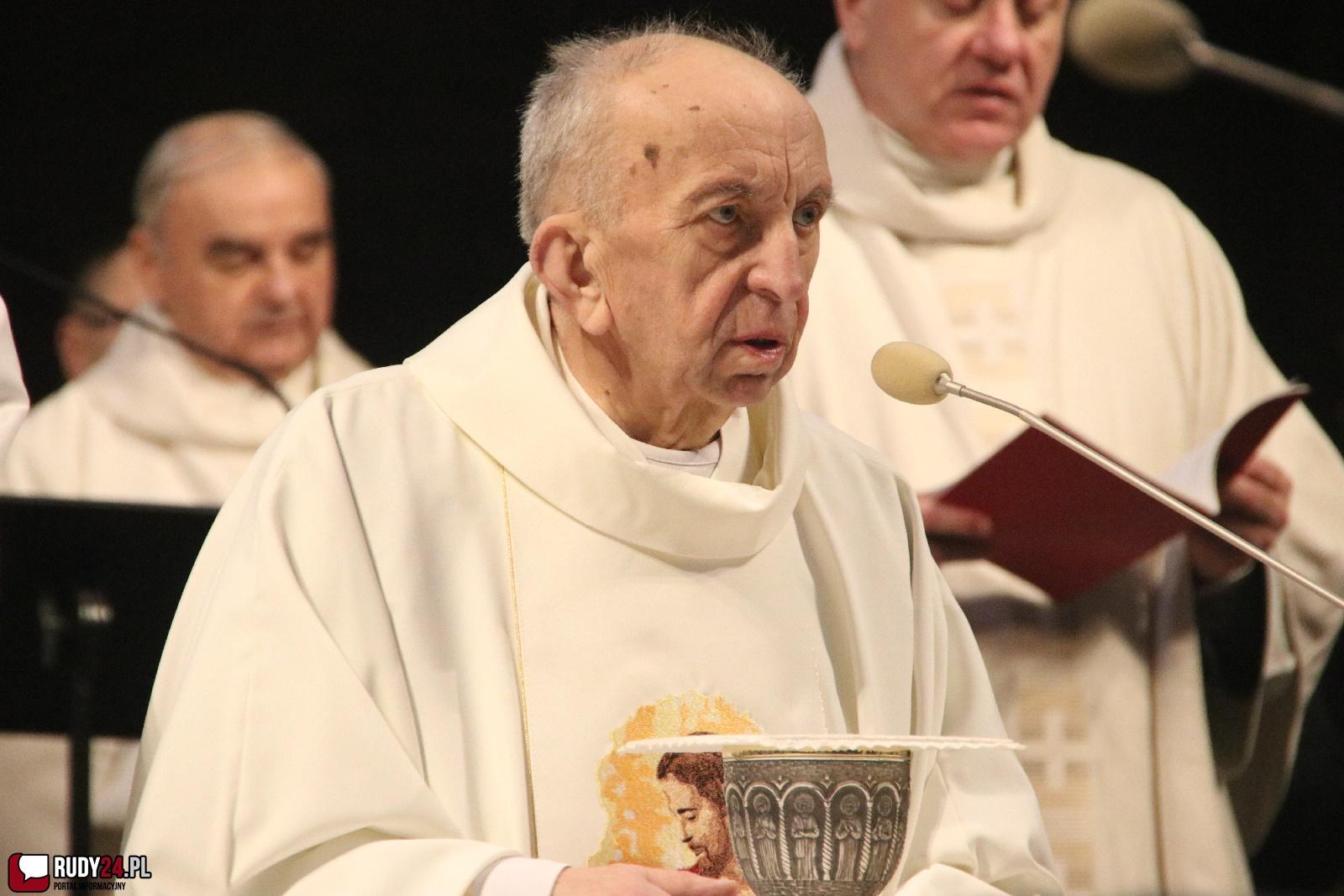 81. rocznica urodzin księdza Gotfryda Fessera