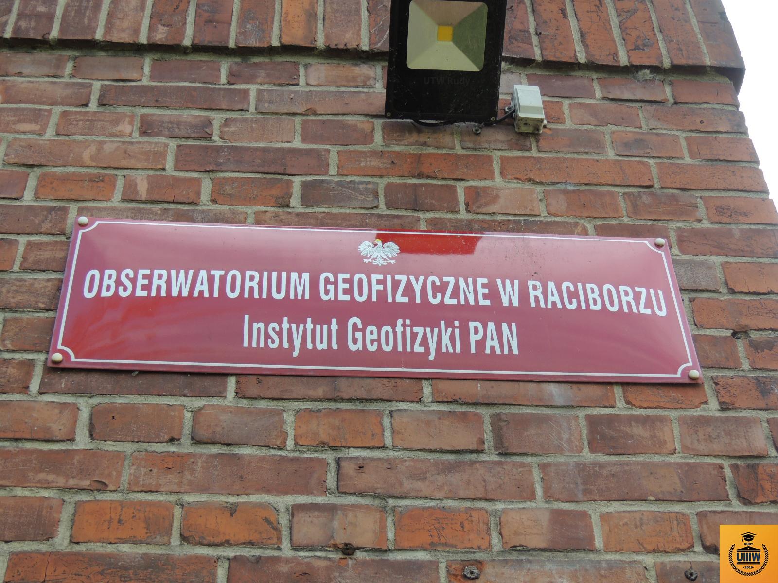 Wyjazd UTW do Obserwatorium Geofizycznego PAN w Raciborzu