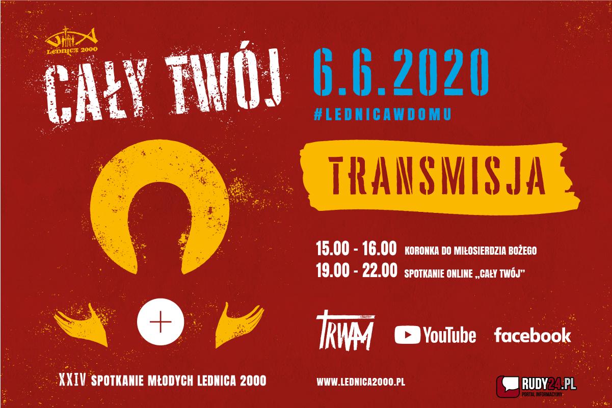 XXIV Spotkanie Młodych LEDNICA 2000 6 czerwca 2020 #Lednicawdomu #zostańwdomu
