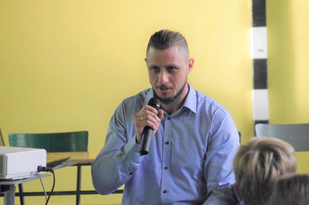 Spotkanie z Szymonem Bolikiem
