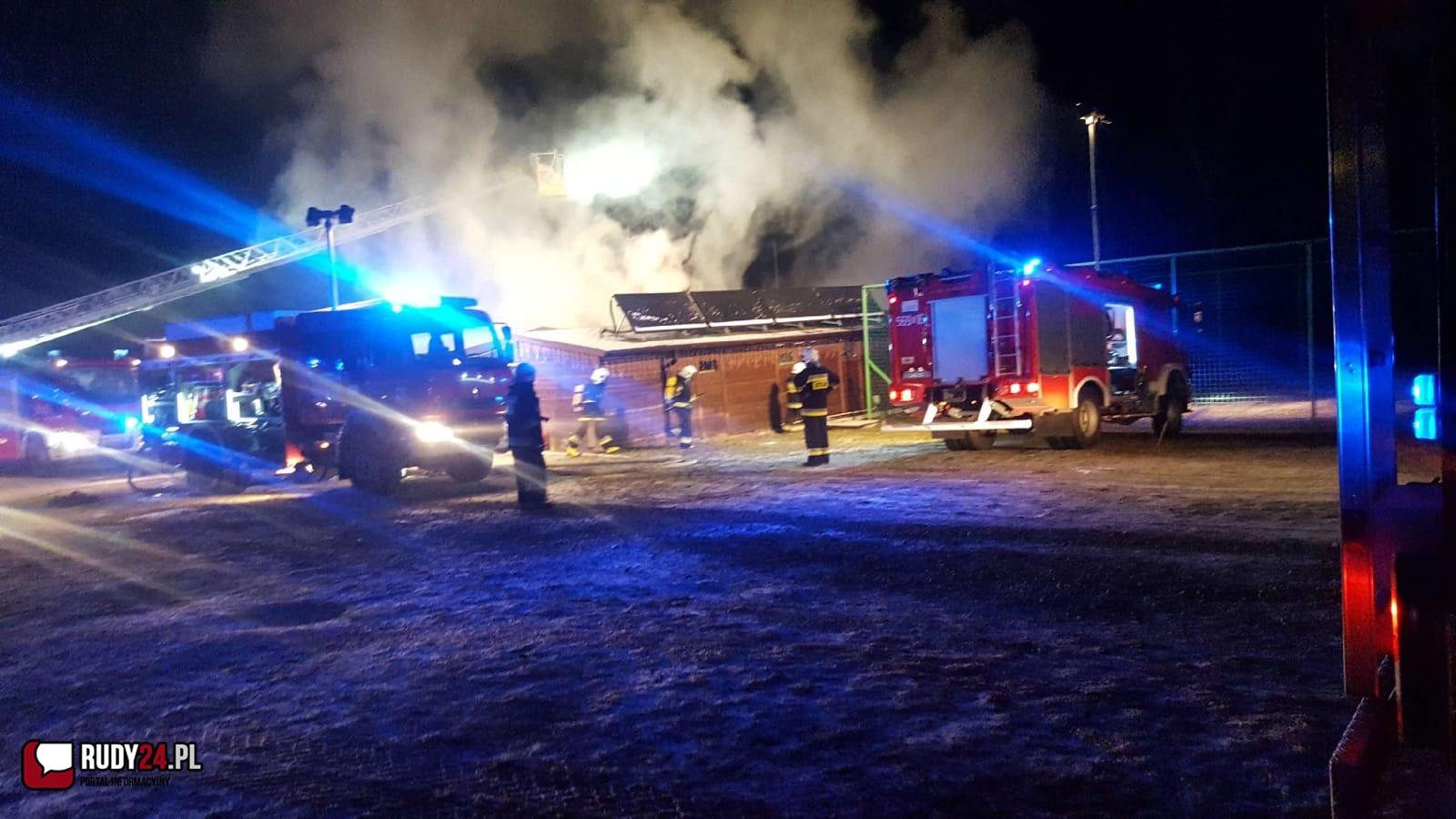 Ogromny pożar w Szymocicach