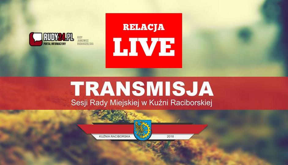 Transmisja XV/2019 Sesji Rady Miejskiej w Kuźni Raciborskiej