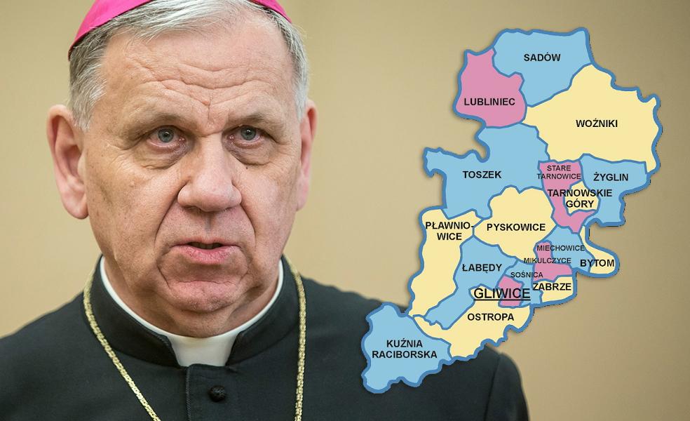 Biskup gliwicki odwołuje wszystkie Msze święte i nabożeństwa z udziałem wiernych