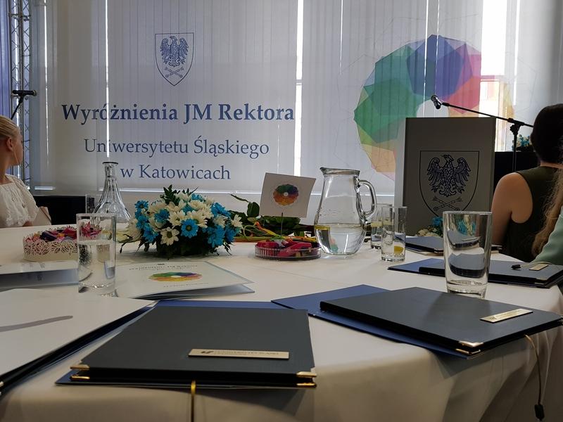 Uroczystość wręczenia wyróżnień JM Rektora Uniwersytetu Śląskiego