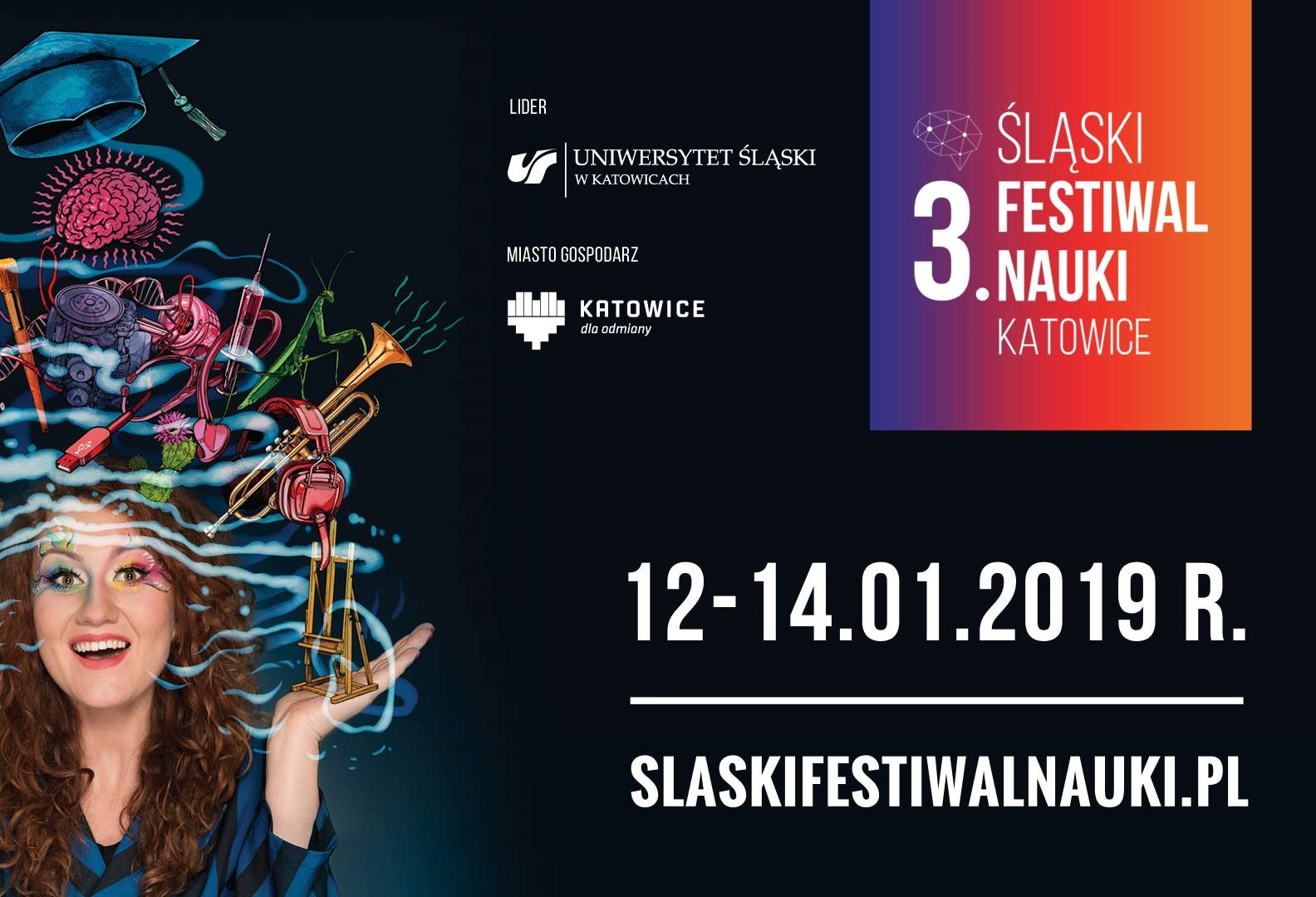 Zobacz pełny program 3. Śląskiego Festiwalu Nauki w Katowicach