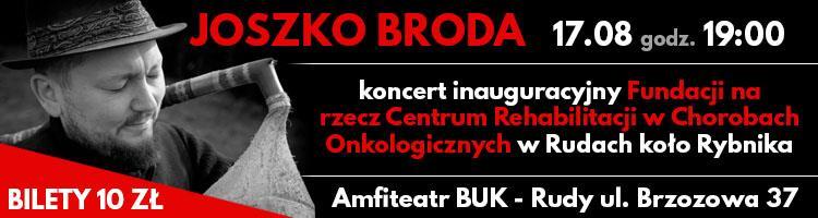 Koncert Joszka Brody w Amfiteatrze Buk
