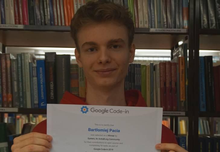 Młody mieszkaniec z Rud wygrywa światowy konkurs informatyczny
