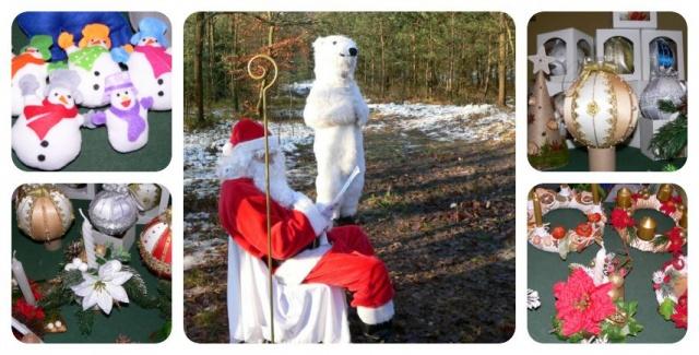 Mikołaj na Kolejce Wąskotorowej