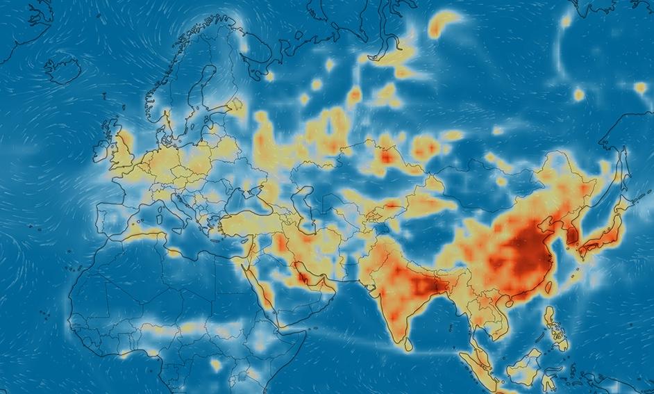 Co z tym smogiem? Śledź obrazy na żywo