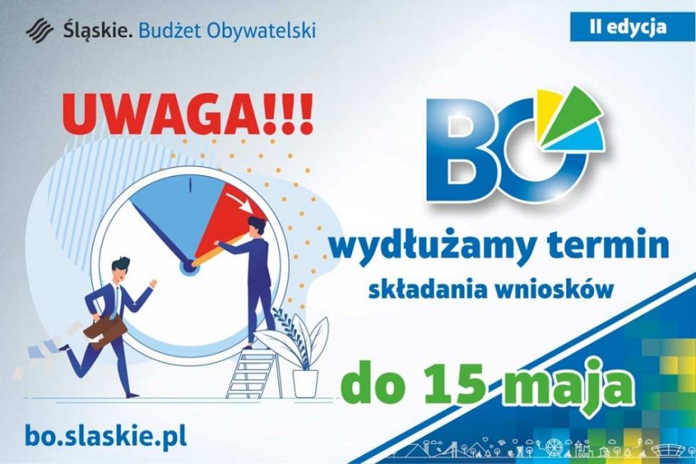 Marszałkowski Budżet Obywatelski. Wydłużono termin naboru
