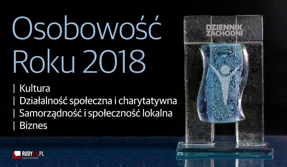 OSOBOWOŚĆ ROKU 2018 Doceń wyjątkowych ludzi z województwa śląskiego - zagłosuj w wielkim plebiscycie