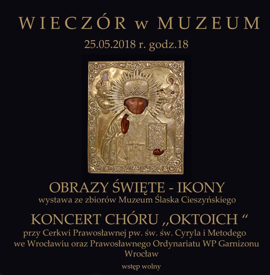 Wystawa Ikon ze zbiorów Muzeum Śląska Cieszyńskiego w Raciborzu