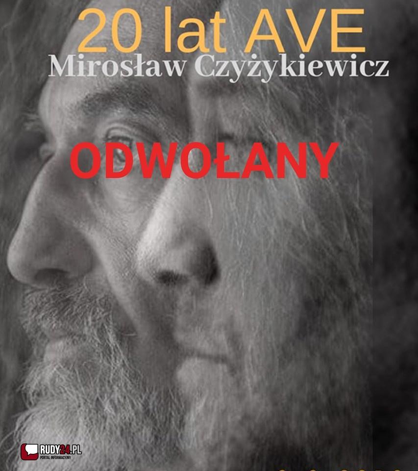 Amfiteatr Buk - koncert Mirosława Czyżykiewicza  odwołany
