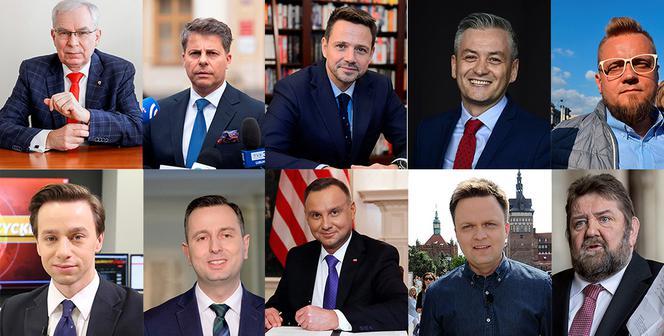 Częściowe wyniki pierwszego głosowania (Polska)