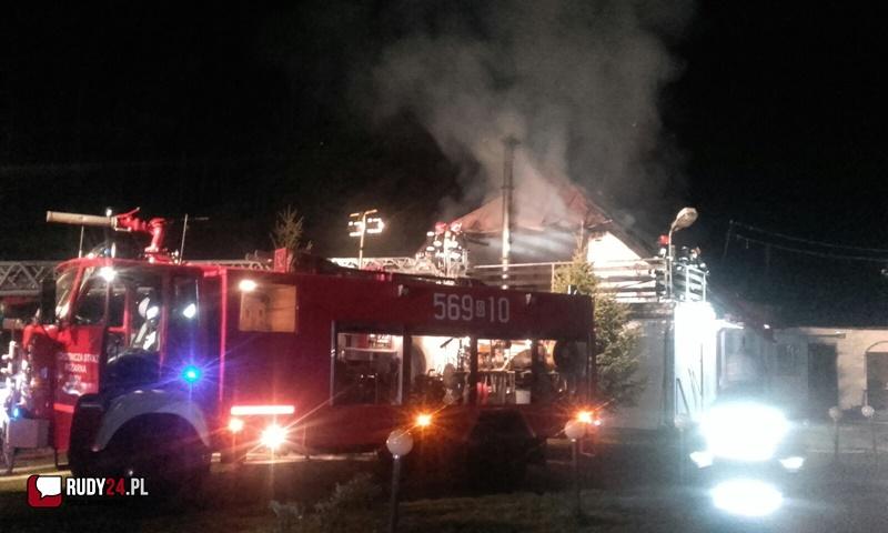 Spłonął dom ! (wideo)