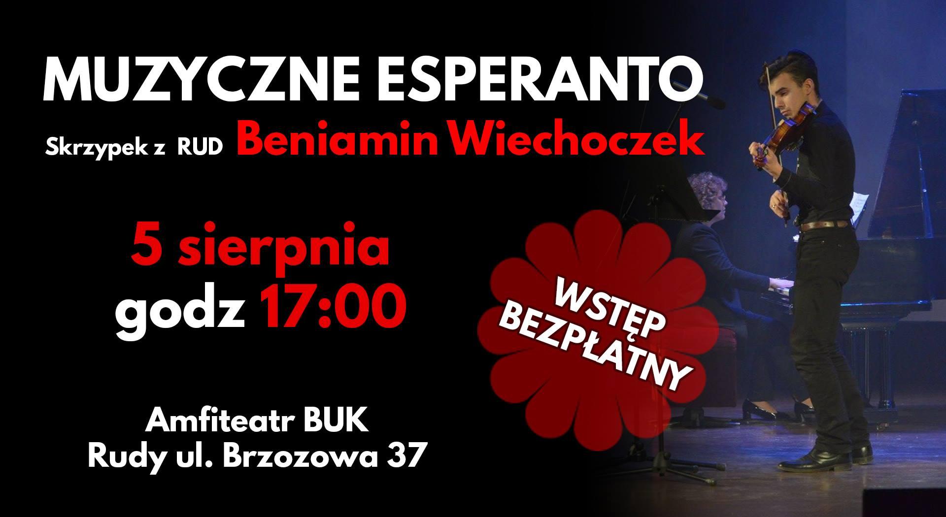 Muzyczne Esperanto - Beniamin Wiechoczek
