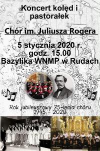 Zapraszamy na koncert kolęd w Bazylice