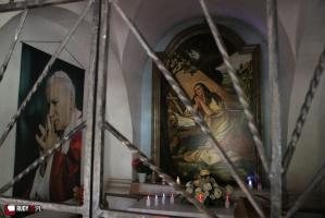 Msza święta na Magdalence