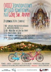 8. raz rowerem na Górę Św. Anny