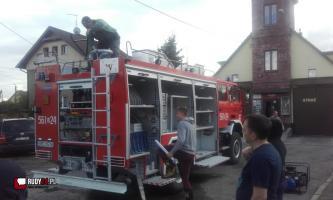 Wóz bojowy trafił dziś do OSP Rudy