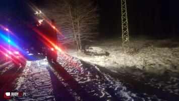 Wypadek na wylocie z Rudy Kozielskiej