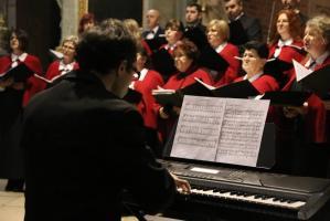 Koncert kolęd rudzkiego chóru