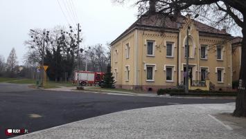 Pożar przewodu kominowego