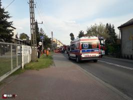 Groźny wypadek! Zamknięta DW 919 (ul. Rogera)