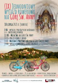 9. raz rowerem na Górę Św. Anny