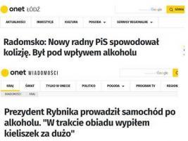 Prezydent Rybnika Piotr Kuczera kierował autem pod wpływem alkoholu!