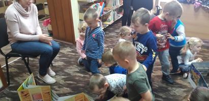 Ogólnopolski Dzień Głośnego Czytania w Bibliotece w Rudach
