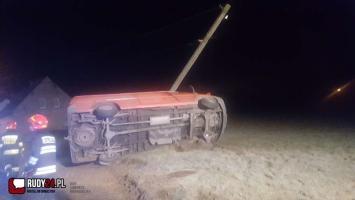Groźny wypadek dzisiejszej nocy