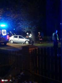 Wypadek na Raciborskiej w Rudach