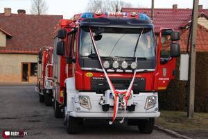 Druhowie OSP Rudy czekają na Twoją propozycję nazwy wozu strażackiego