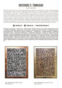 """""""Kod ukryty w ikonie"""" – wystawa Grzegorza Tomasiaka"""