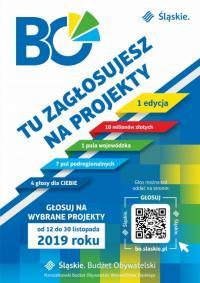 Głosowanie w Marszałkowskim Budżecie Obywatelskim na projekt z Rud!