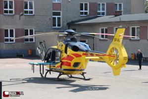 Wypadek na DW 919 w Rudach
