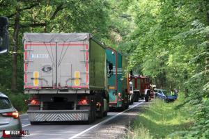 Wypadek na DW 919 (Rudy - Gliwice)