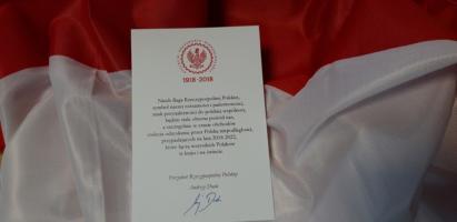Podziękowanie Prezydenta RP