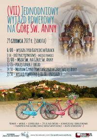 7. raz rowerem na Górę Św. Anny