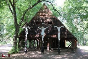 Odpust na Magdalence w lesie