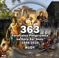 363. pielgrzymka na Górę Św. Anny